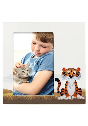 """Hama Porträtrahmen """"Tiger Liam"""", Weiß, 10 x 15 cm kaufen"""
