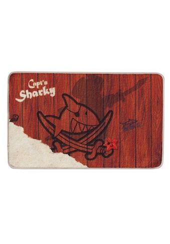 Capt`n Sharky Fußmatte »H-304«, rechteckig, 2 mm Höhe, Fussabstreifer, Fussabtreter,... kaufen