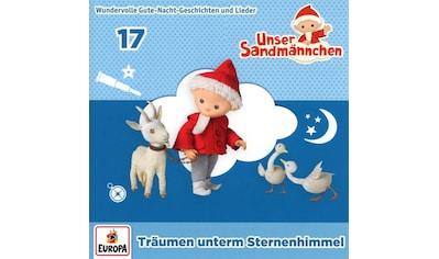 Musik-CD »017/Träumen unterm Sternenhimmel / Unser Sandmännchen« kaufen