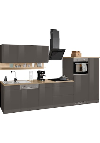 HELD MÖBEL Küchenzeile »Virginia«, mit E-Geräten, Breite 350 cm kaufen
