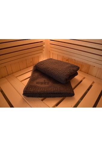 weka Saunatuch, (2 St.), BxL: 70x180 cm kaufen