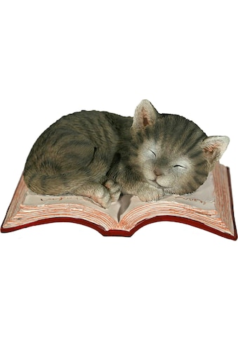 Home affaire Tierfigur »Katze schlafend auf Buch« kaufen