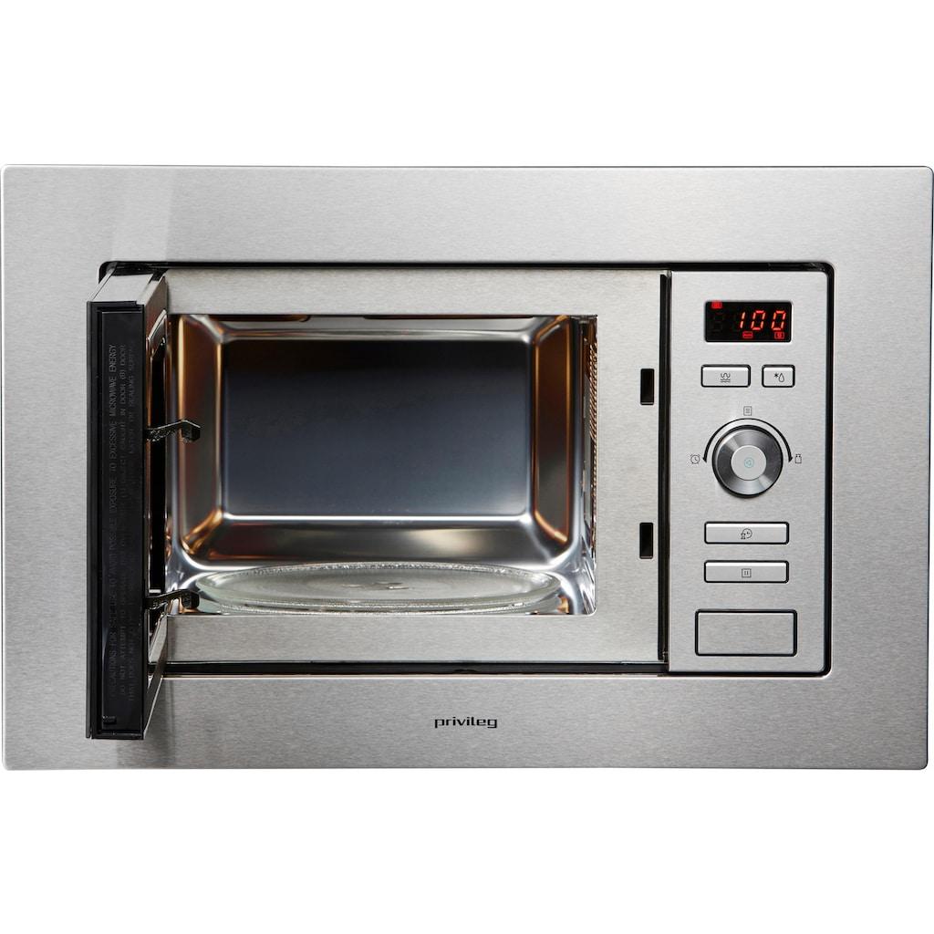 Privileg Einbau-Mikrowelle »AG820B8Q«, Grill, 800 W