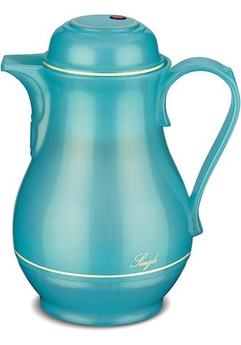 ROTPUNKT Isolierkanne »Shiny Aquamarin«, 0,5 l, mit goldfarbiger Umrandung kaufen