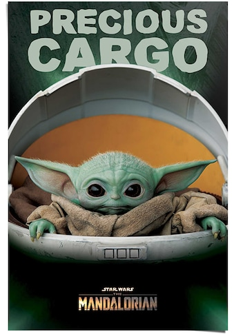 Reinders! Poster »Poster The Mandalorian Baby Yoda«, Serien, (1 St.) kaufen