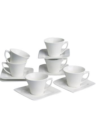 Retsch Arzberg Espressotasse »Fantastic«, (Set, 12 tlg., 6 Espresso Obertassen-6... kaufen