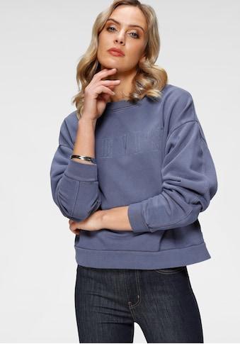 Levi's® Sweatshirt »Graphic Diana Crew«, mit gesticktem großem Logo im Vorderteil kaufen