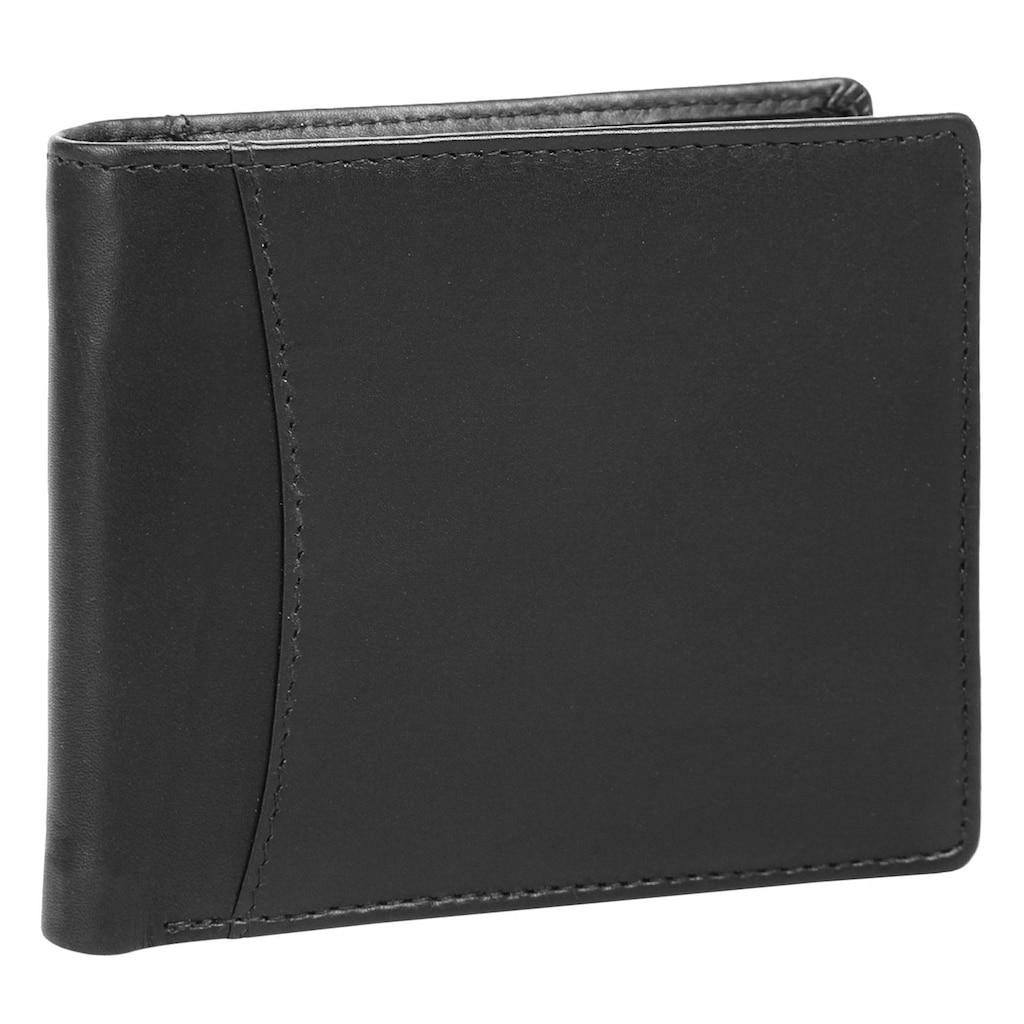 BODENSCHATZ Geldbörse »NAPOLI«, Kreditkartenfächer