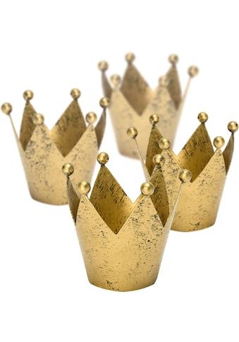 Teelichthalter »Krone«, Ø 8 cm kaufen