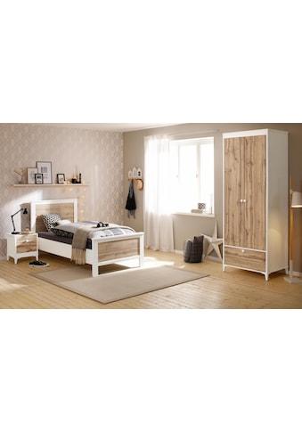 Home affaire Schlafzimmer-Set »Kjell«, (Set, 3 tlg.), bestehend aus Bett, Nachttisch... kaufen
