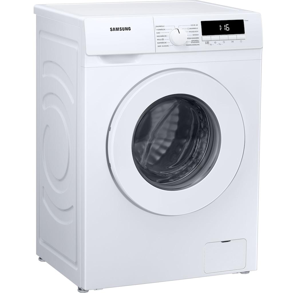 Samsung Waschmaschine »WW81T304PWW«, WW81T304PWW, 8 kg, 1400 U/min, Slim - Tiefe 45,6cm