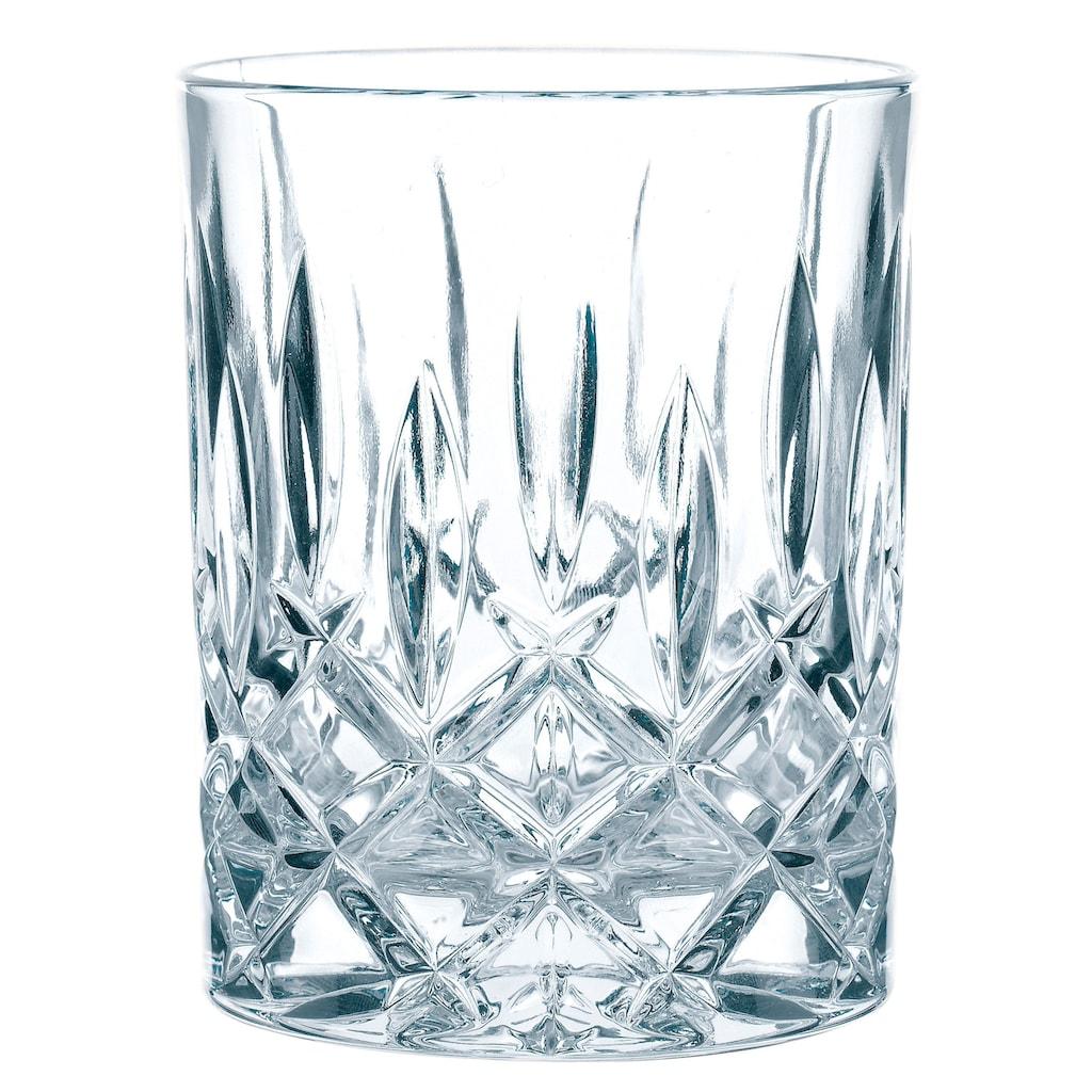 Nachtmann Whiskyglas »Noblesse«, (Set, 4 tlg.), edler Schliff, 4-teilig