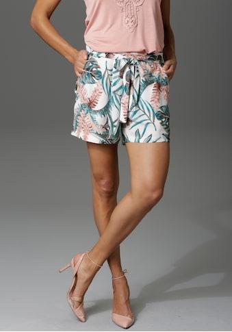 Aniston CASUAL Shorts, mit Tropical-Print kaufen