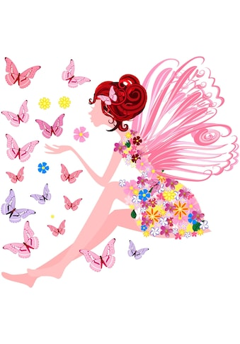 Wall-Art Wandtattoo »Petunia Wunderpracht« kaufen