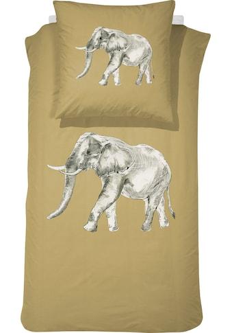 damai Kinderbettwäsche »Boone«, mit Elefant kaufen