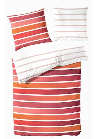 Primera Wendebettwäsche »Ladina«, im Streifendesign kaufen