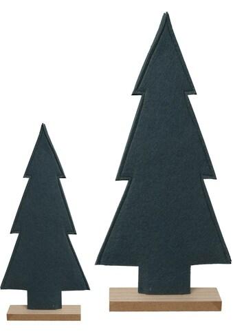 my home Dekobaum, Filz-Bäume mit Holzfuß kaufen