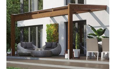 SKANHOLZ Terrassendach »Novara«, BxT: 450x359 cm, versch. Farben kaufen