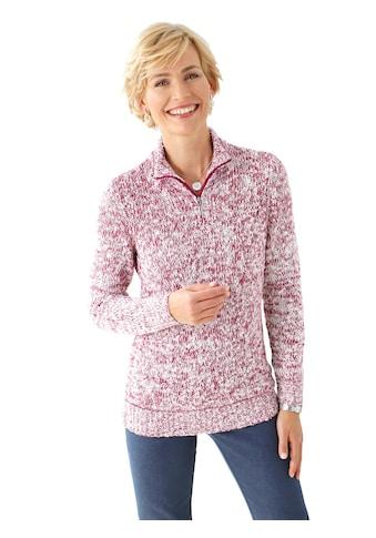 Classic Basics Pullover mit Rippbündchen kaufen
