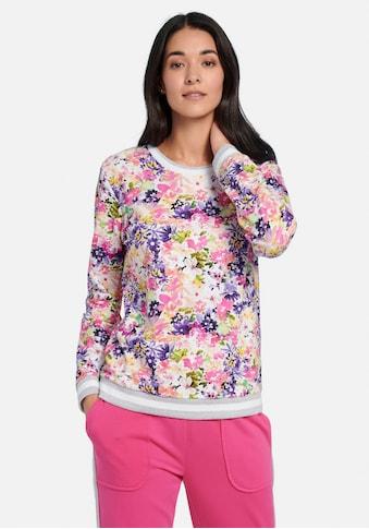 MYBC Sweatshirt »cotton«, und Glitzerbündchen kaufen