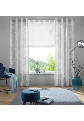 my home Raffrollo »Anna«, mit Schlaufen kaufen