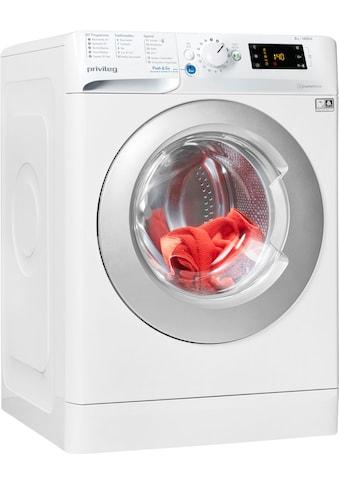 Privileg Waschmaschine »PWF X 843 N«, PWF X 843 N, 8 kg, 1400 U/min kaufen