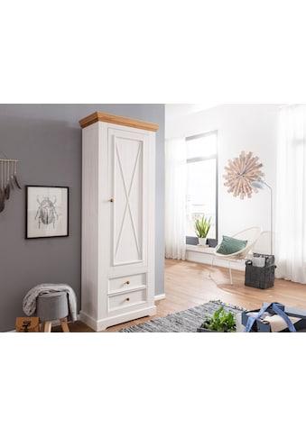 Premium collection by Home affaire Garderobenschrank »Marissa«, aus Massivholz kaufen