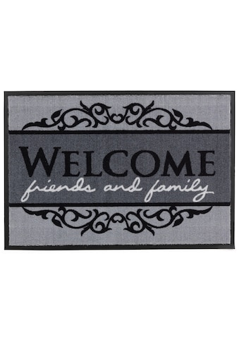 ASTRA Fußmatte »Homelike 004«, rechteckig, 7 mm Höhe, Fussabstreifer, Fussabtreter, Schmutzfangläufer, Schmutzfangmatte, Schmutzfangteppich, Schmutzmatte, Türmatte, Türvorleger, mit Spruch, In -und Outdoor geeignet kaufen