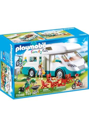 Playmobil® Konstruktions-Spielset »Familien-Wohnmobil, Family Fun«, (135 St.), Made in... kaufen