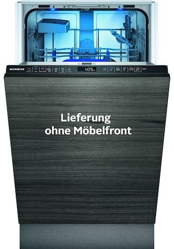 SIEMENS vollintegrierbarer Geschirrspüler »SR85EX09KE«, iQ500, SR85EX09KE, 9 Maßgedecke kaufen