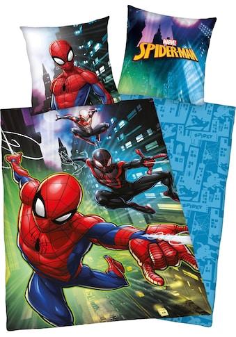 MARVEL Kinderbettwäsche »Spiderman«, mit Spiderman Motiv kaufen