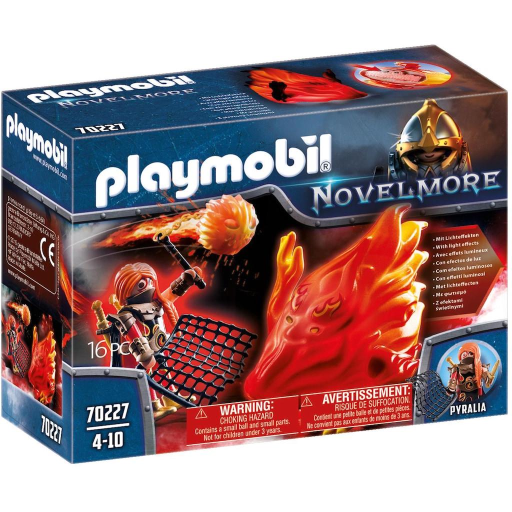 Playmobil® Konstruktions-Spielset »Burnham Raiders Feuergeist und die Hüterin des Feuers (70227), Novelmore«, (16 St.), Made in Europe