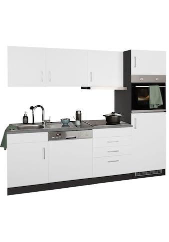 HELD MÖBEL Küchenzeile »Paris«, mit E-Geräten, Breite 230 cm, wahlweise mit... kaufen