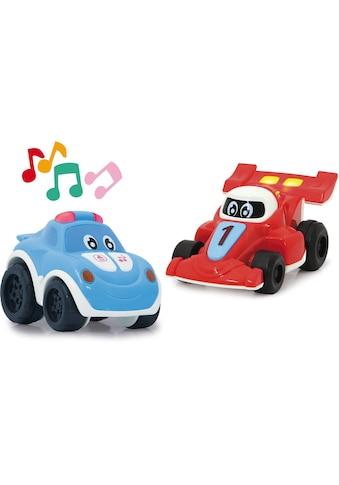Jamara Spielzeug-Auto »My little Racer, rot/blau«, mit Licht und Sound kaufen