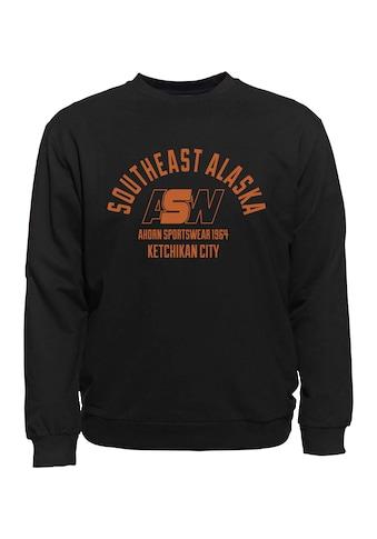 AHORN SPORTSWEAR Sweatshirt mit Frontdruck kaufen