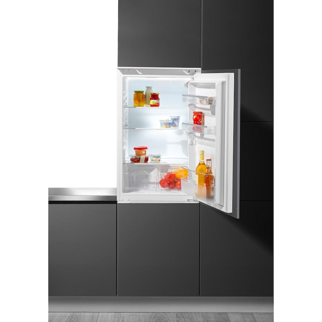 Hanseatic Einbaukühlschrank, HEKS8854F, 88 cm hoch, 54 cm breit, 88 cm hoch