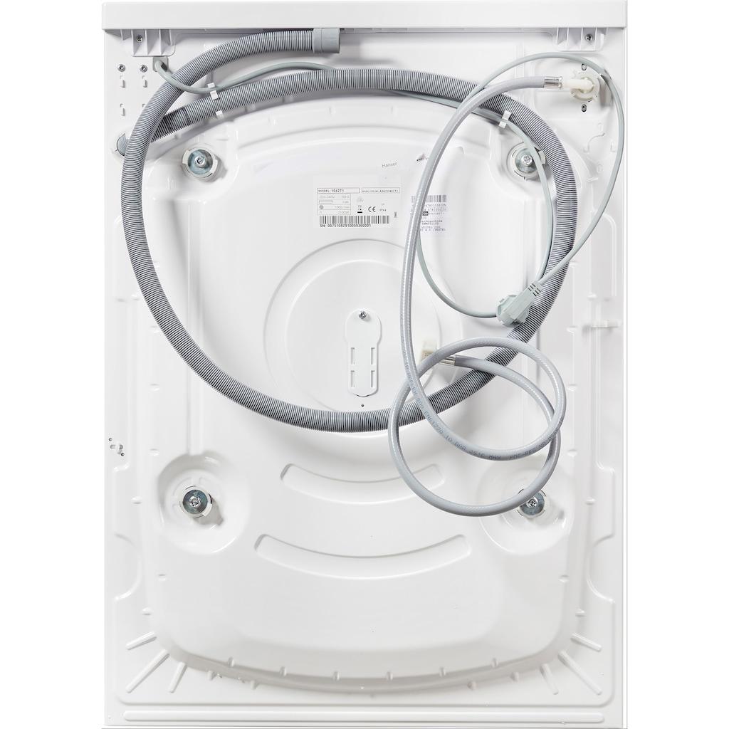 Hanseatic Waschmaschine, HWM5T110D, 5 kg, 1000 U/min