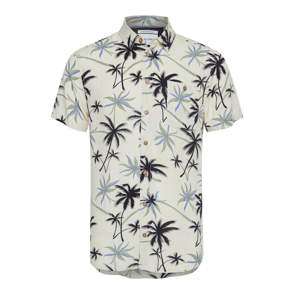 Blend Kurzarmhemd »Blend Kurzarm Hemd mit Print«, Hemd Kurzarm