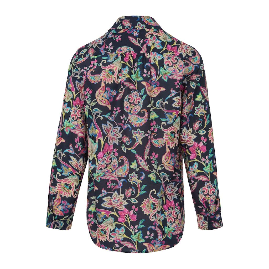 Looxent Hemdbluse »mit Hemdkragen«, und Knopf
