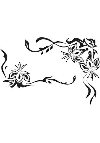 Wall-Art Wandtattoo »Blütenornament« kaufen