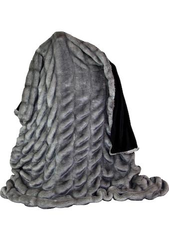 Wohndecke »Gürteltier«, Star Home Textil kaufen