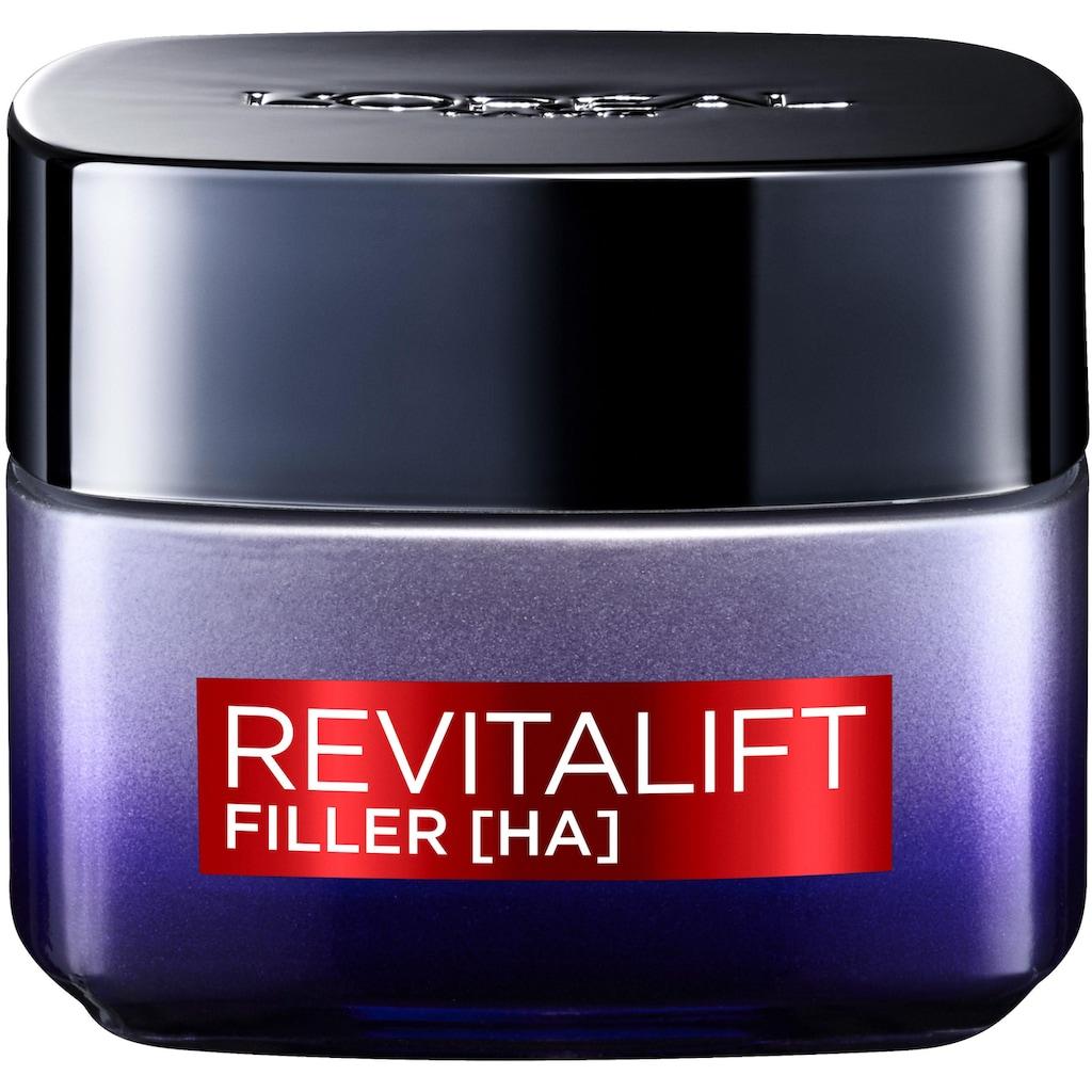 L'ORÉAL PARIS Gesichtspflege-Set »RevitaLift Filler HA Tag und Nacht«, (2 tlg.), enthält Hyaluronsäure