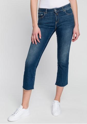 Replay 7/8-Jeans »Faaby«, mit Glitzerstein-Nieten am Münzfach kaufen