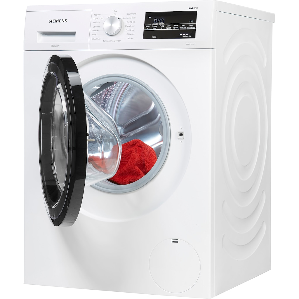 SIEMENS Waschmaschine »WM14G400«, iQ500, WM14G400, 8 kg, 1400 U/min