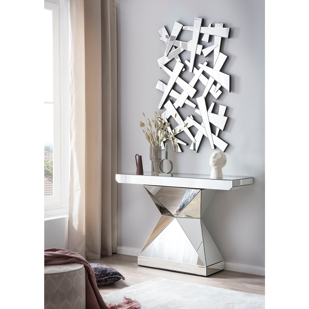 SalesFever Wandspiegel, in abstraktem Splitterdesign