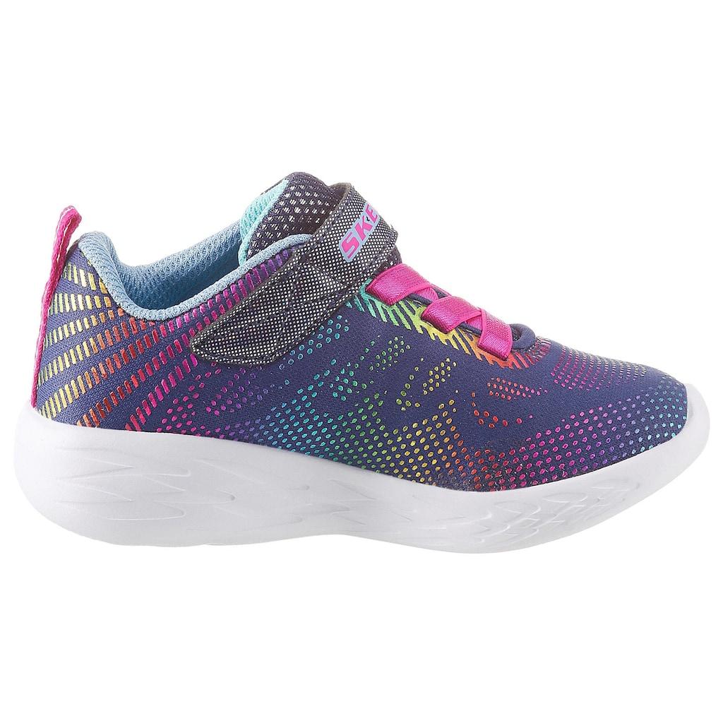 Skechers Kids Sneaker »Go Run 600«, mit coolem Regenbogen-Farbverlauf