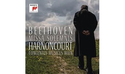 Musik-CD »Beethoven: Missa Solemnis in D Major,op.123 / Harnoncourt,Nikolaus« kaufen