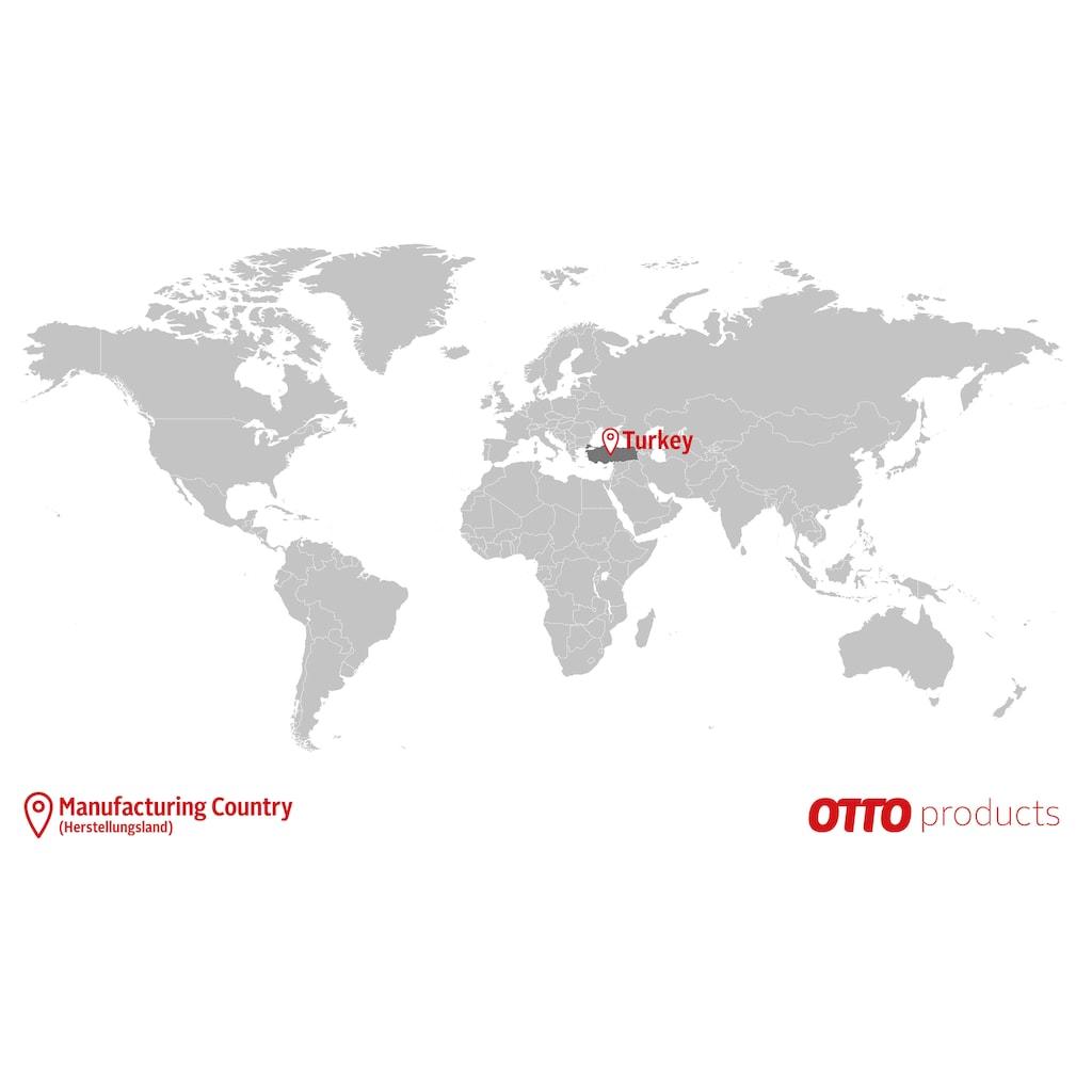 OTTO products Kissenhüllen »Janna«, (2 St., 40x40 cm), aus 100% Bio Baumwolle (2Stück)