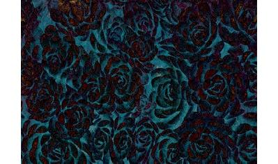 CONSALNET Vliestapete »Muster mit Rosen«, in verschiedenen Größen kaufen