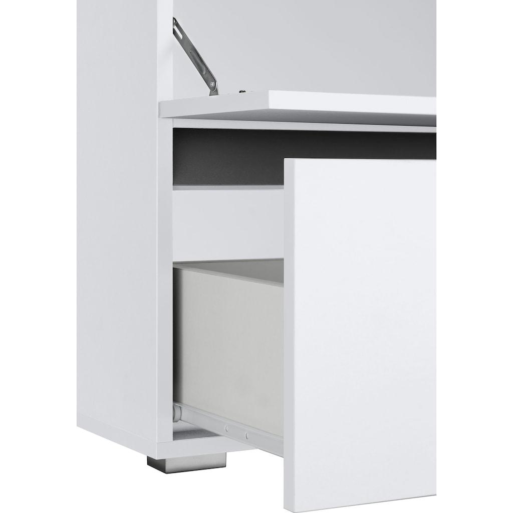 Home affaire Waschbeckenunterschrank »Wisla«, Breite 60 cm, oben Klappe & unten großer Auszug
